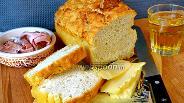 Фото рецепта Хлеб на пиве со сливочным маслом