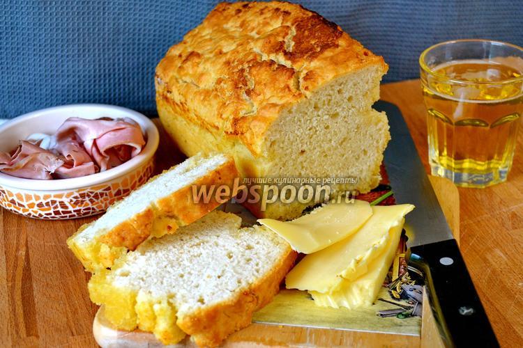 Фото Хлеб на пиве со сливочным маслом