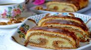 Фото рецепта Венгерский ореховый рулет