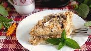 Фото рецепта Слоёный торт «Лентяйка»