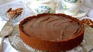 Фото рецепта Шоколадный пай «Грязь Миссисипи»