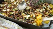 Фото рецепта Запеканка из бараньего фарша с тыквой и фетой