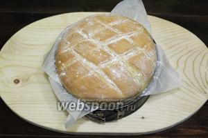 Хлеб на оливковом рассоле готов. Приглашаю на дегустацию. Готовьте с удовольствием и приятного вам аппетита!