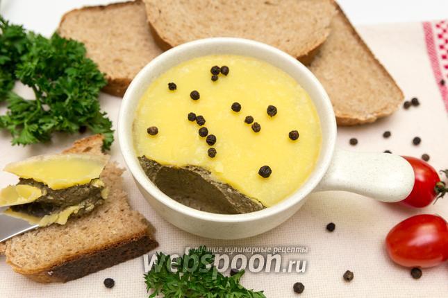 Фото Печёночный паштет с овощами
