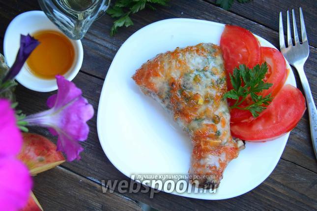 Фото Куриная голень под медово-грейпфрутовым соусом
