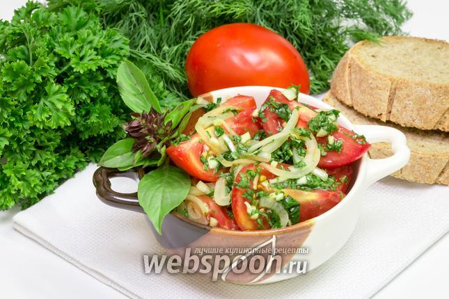 Фото Быстрые маринованные помидоры