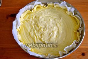 Выложить аккуратно крем в форму. И поставить запекаться в разогретую до 170°C духовку примерно на 1 час. Следить за десертом, готовность проверить через 50 минут. Крем должен загустеть. При выпечке, верх флана зарумянится — это нормально, главное, чтобы он не сгорел!