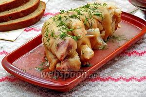 Аппетитные свиные ножки