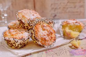 Кокосово-сырные пирожные