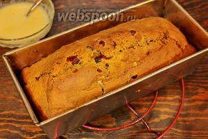 Готовый кекс, остудить на решётке и полить глазурью. Волшебного вам, настроения!
