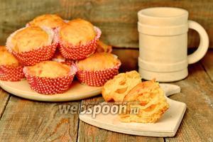 Дрожжевые булочки с тыквой и Моцареллой