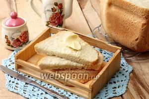 Французская булка в хлебопечке