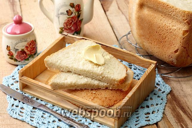 Фото Французская булка в хлебопечке