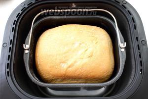 Нажмите старт и через 3 часа 10 минут хлеб будет готов.