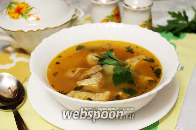 Фото Фасолевый мясной суп