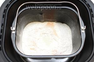 Установите чашу в хлебопечку.