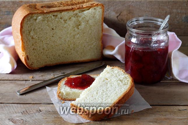 Фото Сметанный хлеб в хлебопечке
