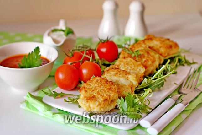 Фото Картофельно-рыбные котлеты