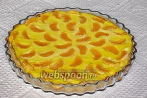 Выпекать пирог ещё 40-45 минут при 180°C. Приятного аппетита!:))
