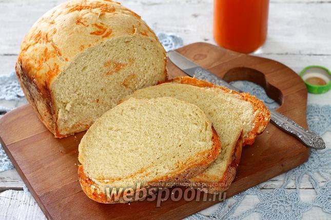 Фото Морковный хлеб в хлебопечке