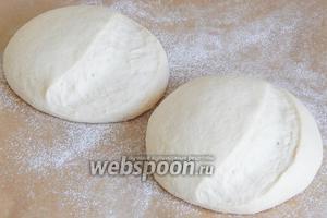 Хлеб подошел - пора его выпекать.