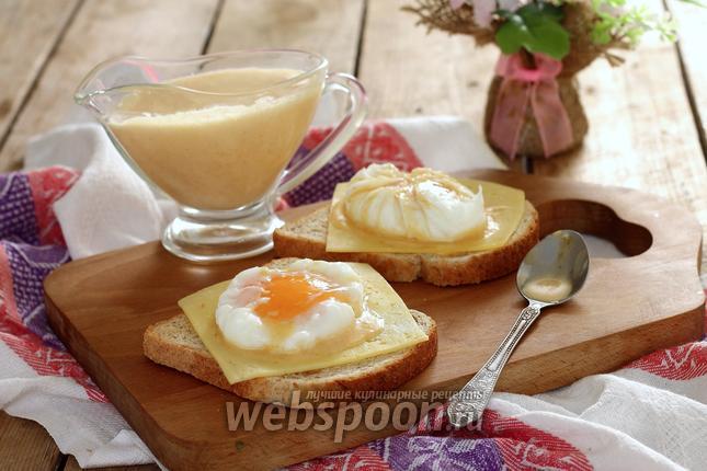 Фото Яйца Бенедикт с голландским соусом
