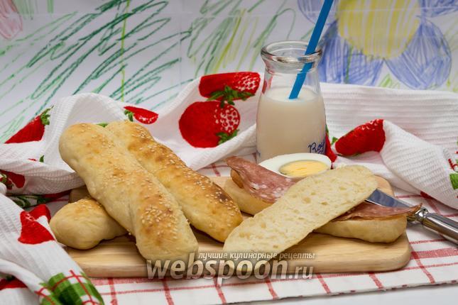 Фото Хлебные палочки