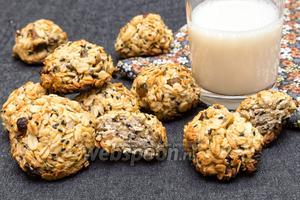 Овсяное печенье с имбирём