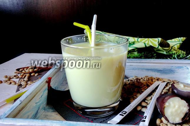Фото Молочный напиток с зелёным кофе