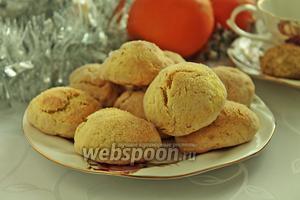 Печенье на апельсиновом соке