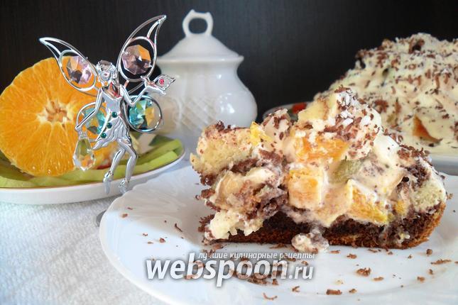Фото Фруктовый торт