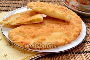 Хрустящие чебуреки с сыром