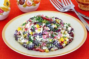Салат «Яркие краски»