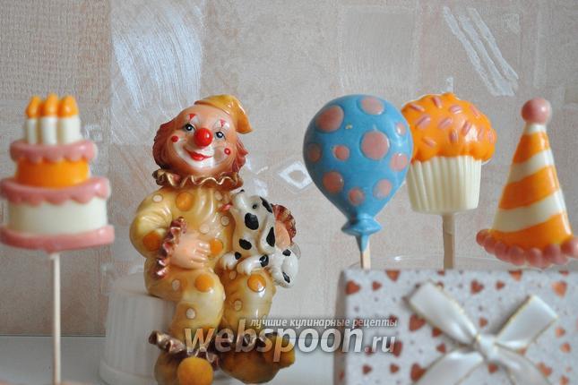 Фото Шоколадные конфеты к детскому празднику