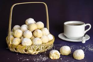 Печенье «Снежок» из манной каши