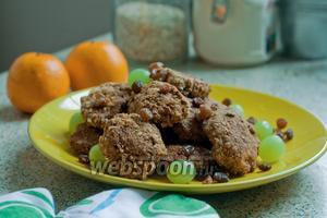 Овсяное печенье без масла и сахара