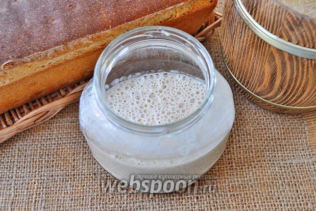 Фото Домашняя закваска на ржаном солоде для хлеба