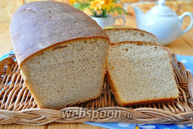 Фото Хлеб ржаной на домашней закваске