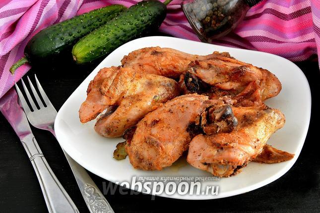 Фото Курица, запечённая в греческом йогурте