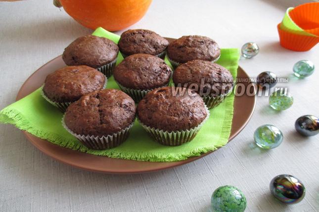 Фото Маффины с шоколадными чипсами