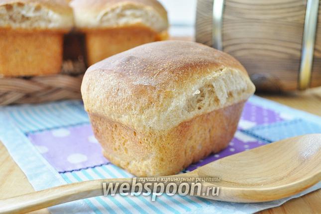 Фото Бездрожжевой хлеб на обойной муке