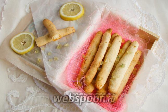 Фото Ореховые палочки с цукатами