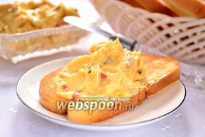 Медовое масло с годжи и цедрой апельсина