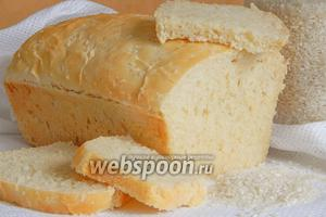 Хлеб с рисовой кашей