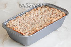 Готовим полезный хлебушек в предварительно прогретой духовке 50 минут при 190°С.