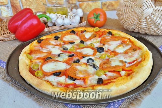 Фото Пицца болгарская
