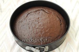 Разогреть духовку до 180ºC и печь пирог 35-40 минут. Готовность проверить при помощи деревянной палочки.