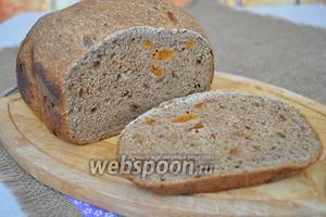 Когда хлеб остыл его можно резать.