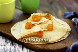 Блины апельсиновые