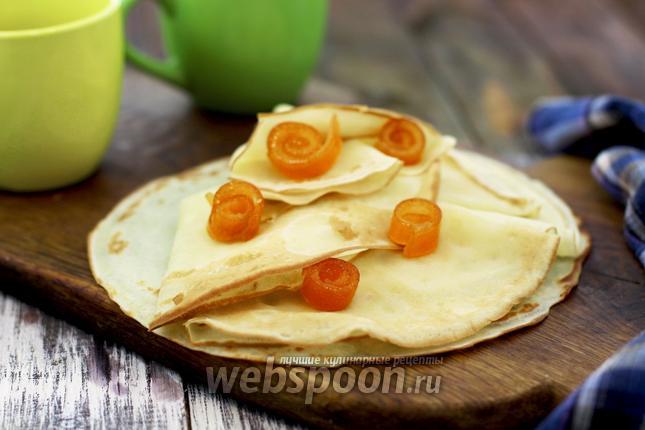 Фото Блины апельсиновые